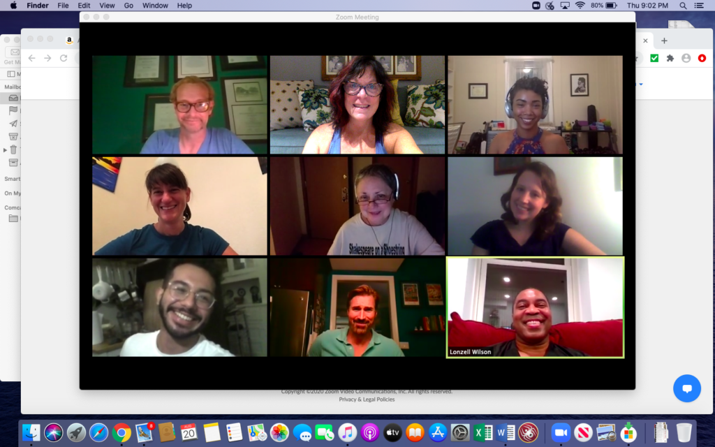 screen shot of diversity and inclusion committee